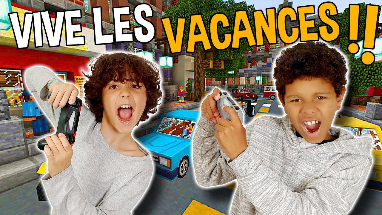 Vive Les Vacances Sur Minecraft