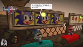 Mario vs. Sonic - Arena - (LBW2) Crown Winner - LittleBigPlanet