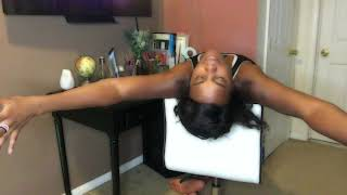 Chair yoga for office professionals