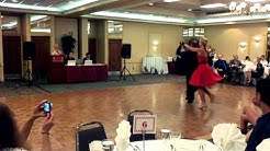 Ashley and Vasiliy dance Polka at our jacksonville ballroom dance studio summer showcase 2011