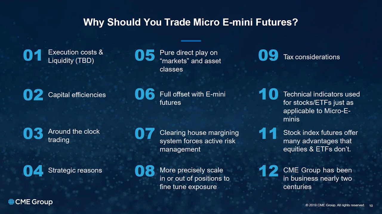 Webinar - CME - The Next Big Thing Micro E mini Equity Index Futures