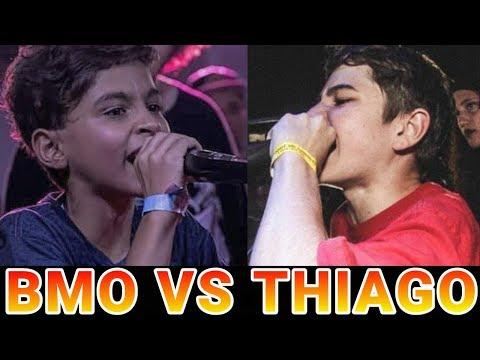 BMO VS  THIAGO ⚫ VOCÊ NUNCA VERA RIMAS TÃO FODAS!