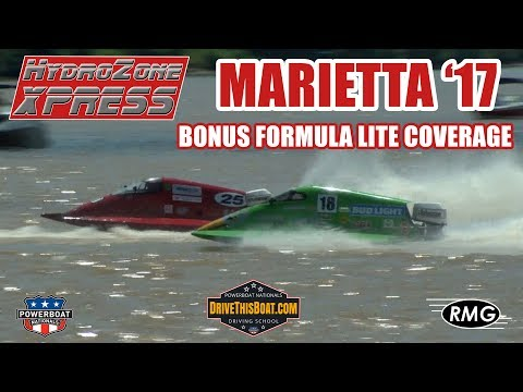 Evinrude Powered Formula Lite Boat Wins Marietta Riverfront Roar 2017