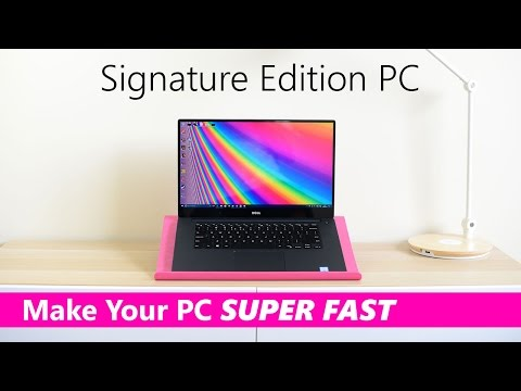 Make Any Laptop Or PC Into A SIGNATURE EDITION PC Fresh Install Windows 10 Creators Update