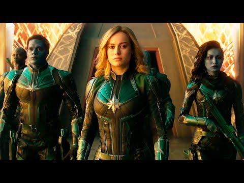 Капитан Марвел — Русский трейлер #2 (2019)