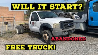 We got an abandoned f550 for free!! Will it start?