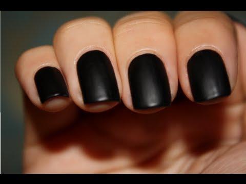 Permanent Black Nails Using Black Hair Dye O O Youtube