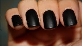 [3.26 MB] Permanent black nails using black hair dye o o