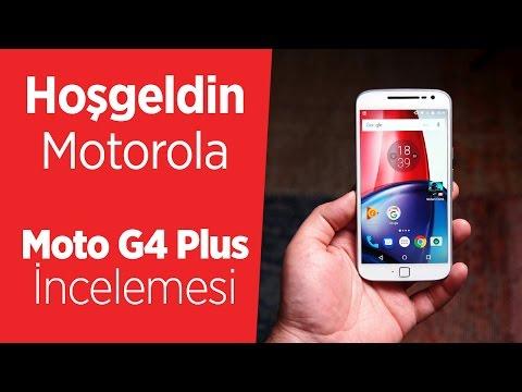 Motorola Moto G4 Plus İnceleme Videosu | Yine, Yeni, Yeniden
