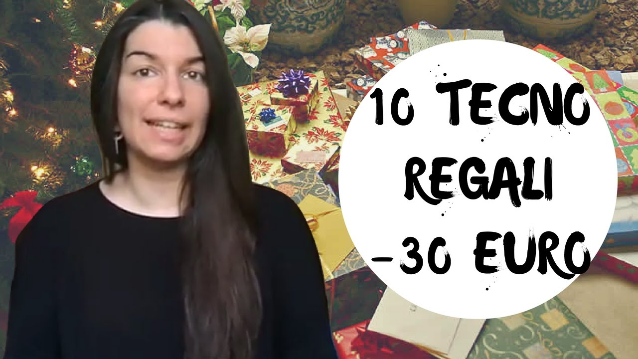 Regali Di Natale Sotto 10 Euro.10 Regali Tecnologici Sotto I 30 Euro Per Bambini E Ragazzi Youtube