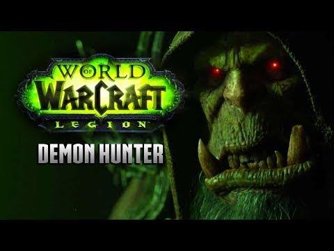 world of warcraft legion demon hunter pt 62 | hunting and skinning