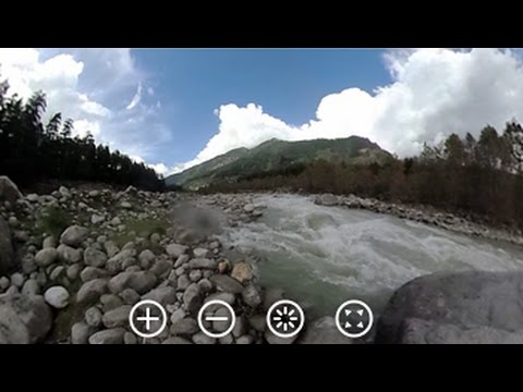 360-Degree View Of The River Beas And Mountains