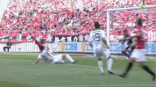 Motoyama (休) 2011 J1#12 浦和 2-2 鹿島:西・増田ゴール
