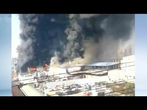11 Killed In A Fire In Henan Province's Shangqiu