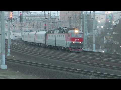 ЧС7-079 с пассажирским поездом №743В  Москва - Белгород