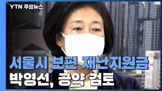 박영선, '모든 서울시민 지원금' 조만간 발표...이재…