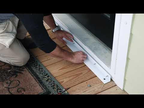 Doors- Hurricane Panels Installation Tutorial