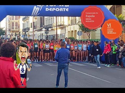 Cam de ESPAÑA de Medio Maratón y VI Media Maratón de Melilla 2018
