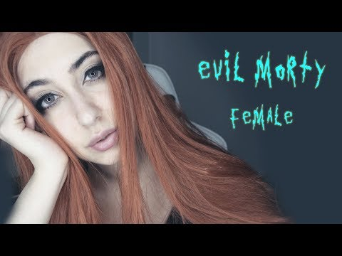 Female Evil Morty ASMR | roleplay - 🍣 con Morty ( Rick y Morty) (eating sounds)