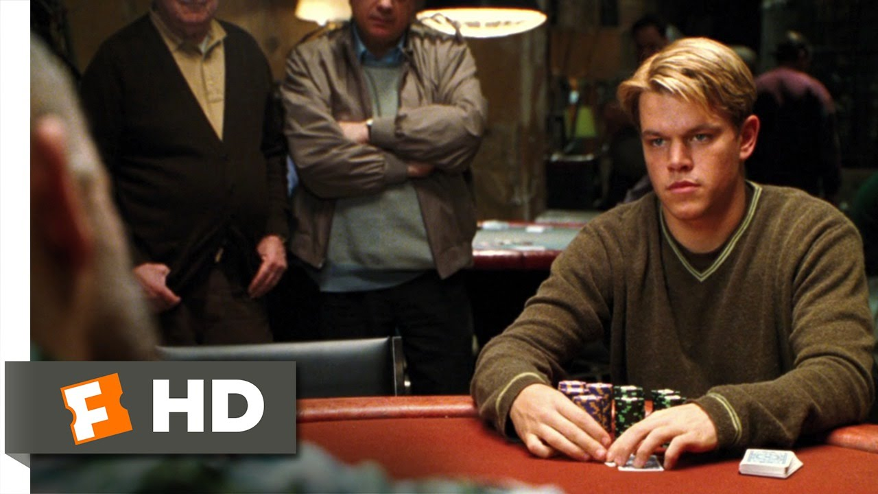 Rounders (1/12) Movie CLIP - No Limit Texas Hold 'Em (1998