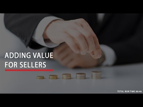Adding Value for Sellers