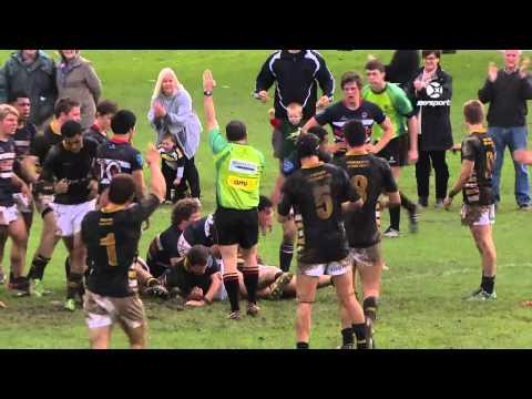 1st XV Rugby: St Pauls Collegiate v Feilding HS | SKY TV