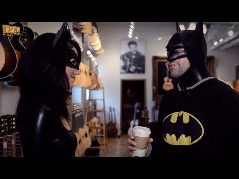 Batman Goes Crazy in Guitar Store