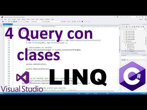 Query con clases - 4 - Tutorial LINQ básico en español C#