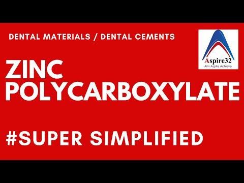 Zinc Polycarboxylate Cement | Dental Cements | Super Simplified