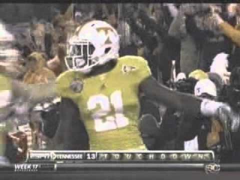 2010 Music City Bowl North Carolina vs Tennessee