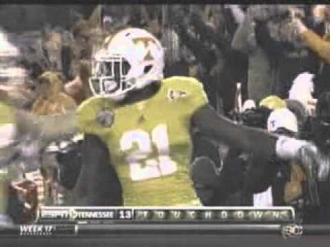 2010 Music City Bowl North Carolina vs Tennessee