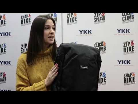 YKK x Dakine at Outdoor Retailer + Snow Show: Concourse Series Backpack