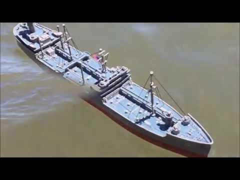 kennebec oil tanker ship 1:525
