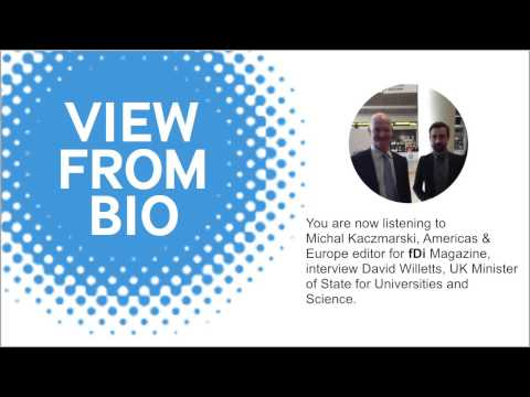 Interview with David Willetts, UK Minister of State for Universities and Science - View from BIO 201