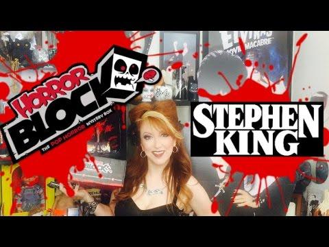 Horror Block September Unboxing Stephen King theme IT, Misery, The Shining & More!