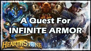 A Quest For INFINITE ARMOR - Witchwood / Hearthstone