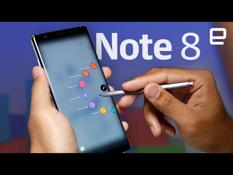 Samsung Galaxy Note8 hands-on
