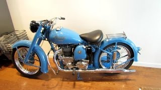 1949 Indian Golden Arrow Motorcycle - Saint Catherine Street, Montr...