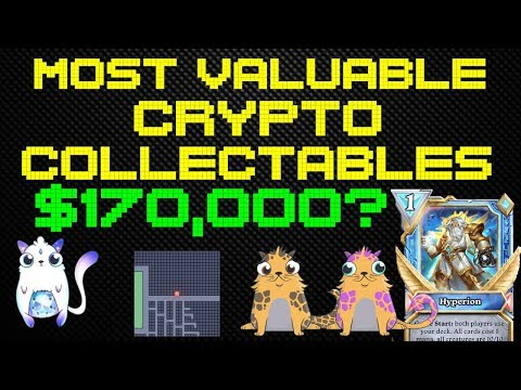 The Most Valuable Crypto-Collectables In Crypto History   $170,000?