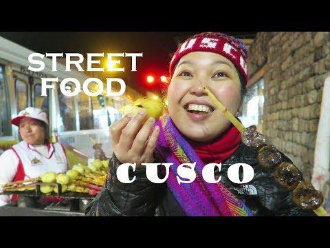 ANTICUCHOS, STREET FOODS | LOCAL CUISINE of CUSCO (PERU)