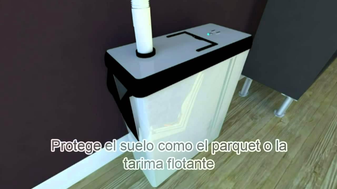 Depoclim deposito para el agua del aire acondicionado for Bomba desague aire acondicionado silenciosa