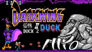 Darkwing Duck 2 (Unl) (Super C HACK) - NES LONGPLAY - NO DEATH RUN (FULL GAMEPLAY)