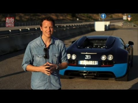 Bugatti Veyron Vitesse video - Auto Express