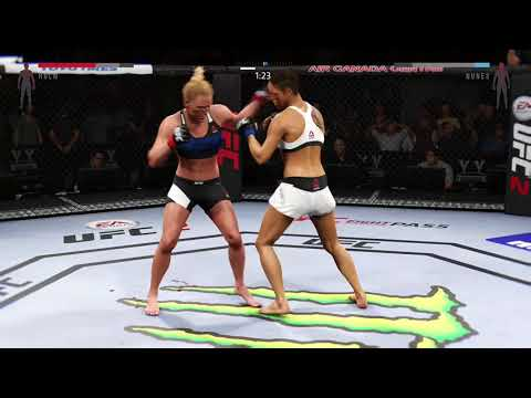 Holly Holm Delivers Some Sweet Chin Music to Amanda Nunes