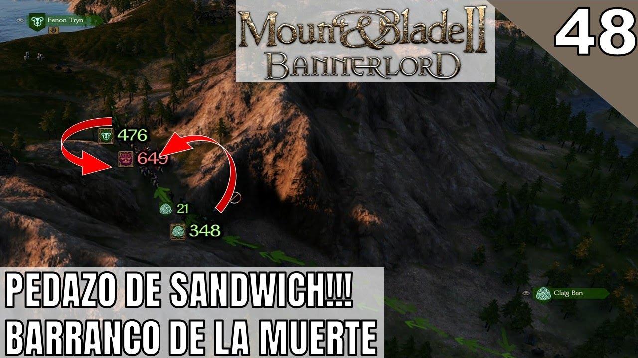 #48 Pedazo de Sandwich | Mount & Blade 2 Bannerlord Gameplay Español