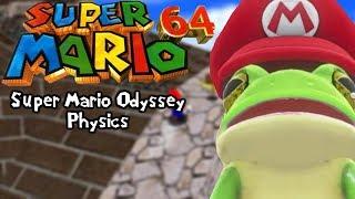 Super Mario 64 Rom Hacks | Super Mario Odyssey Physics (Super Mario Odyssey 64 v4)