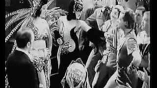 KAY JOHNSON EM CENAS DE 1930. MÚSICA NA VOZ DE CARLOS GALHARDO,1938, MÁSCARA DE VELUDO.
