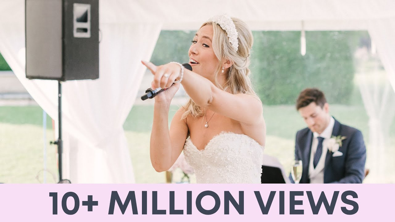 Download Bride and Groom sing EPIC Thank You Song to Wedding Guests - Best Wedding speech