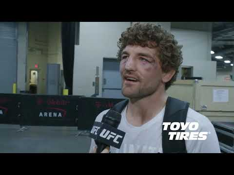 UFC 235: Бен Аскрен - Я ломаю трахеи