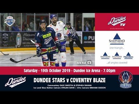 19/10/2019 - Dundee Stars v Coventry Blaze